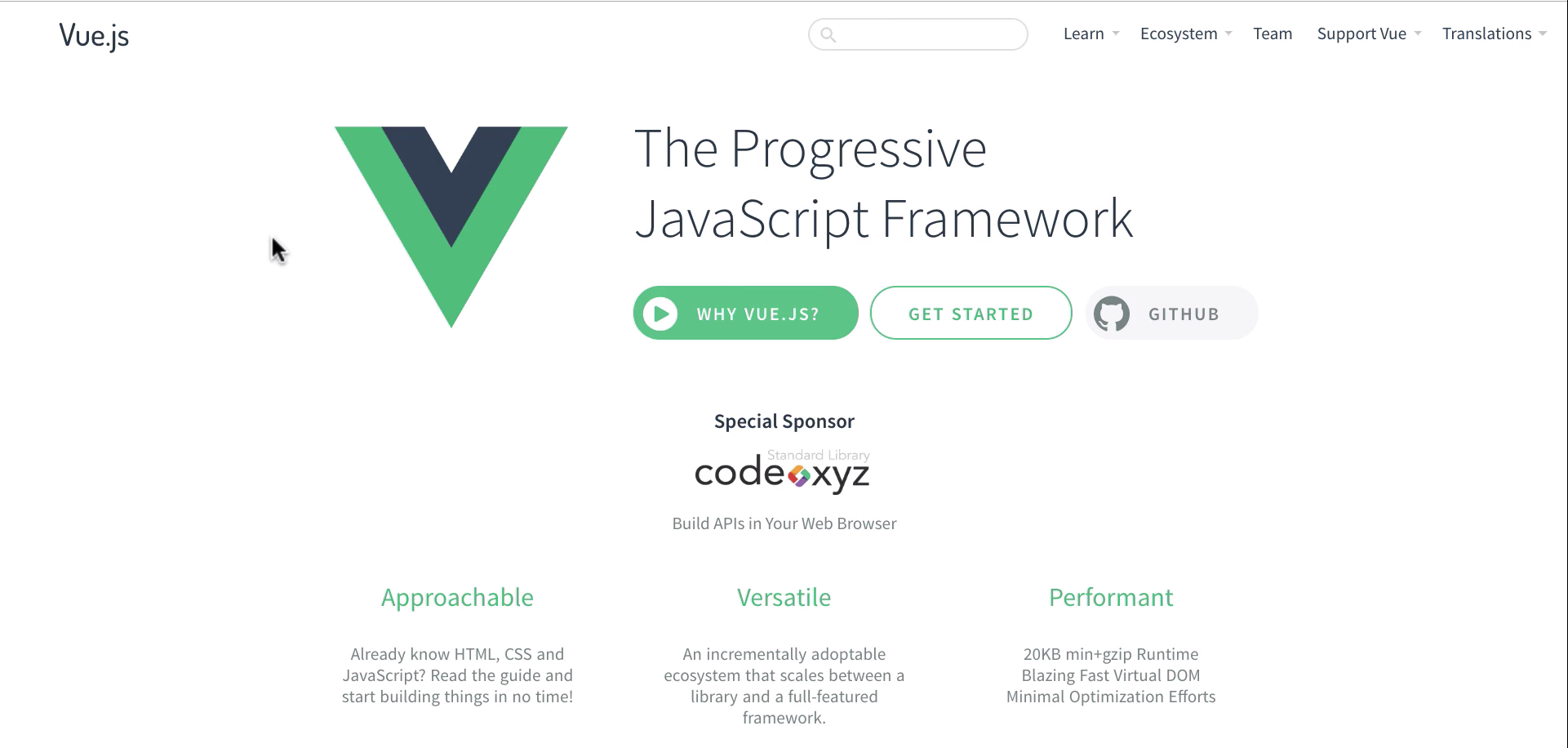 Generating the Dev Workflow Application with the Vue CLI