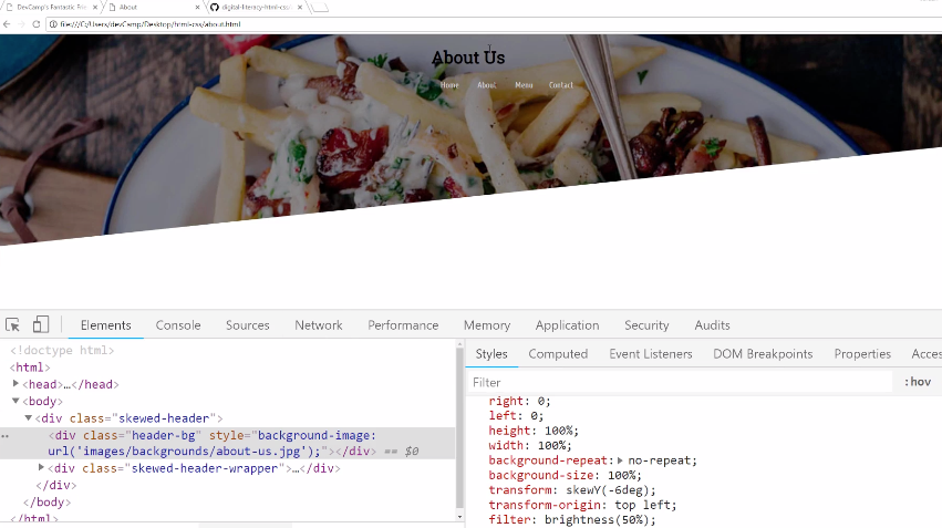 How to Skew Images in CSS