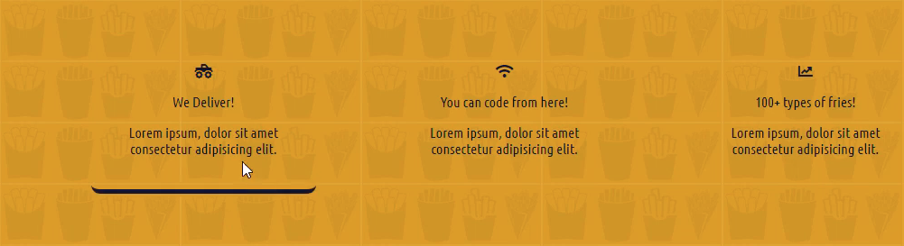 How to Create Columns with Animated Hover Effects in CSS