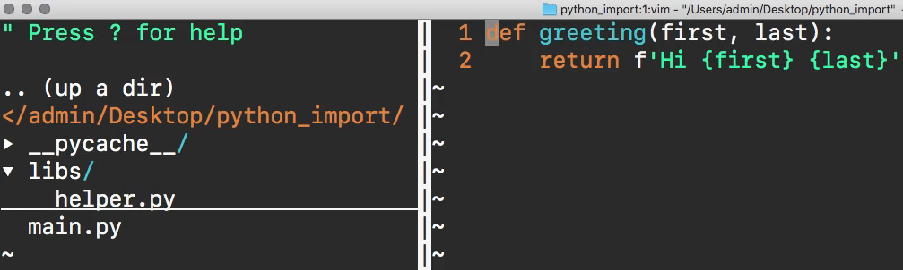 How to Import a Custom Python Module into Another File