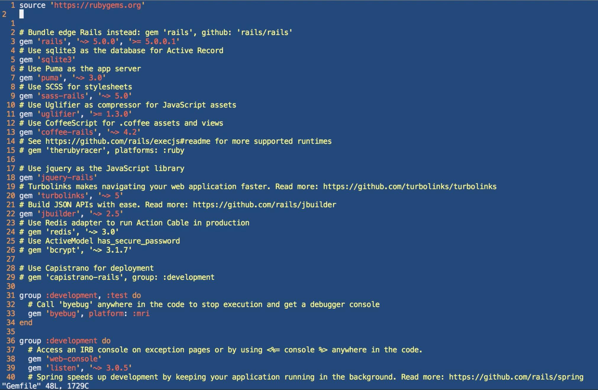 Advanced Delete Commands in Vim