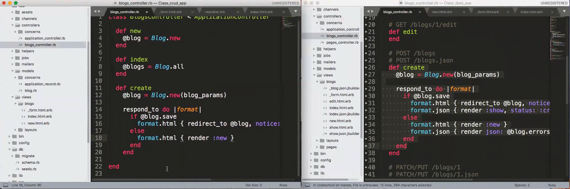 Webinar: Overview of CRUD in Rails