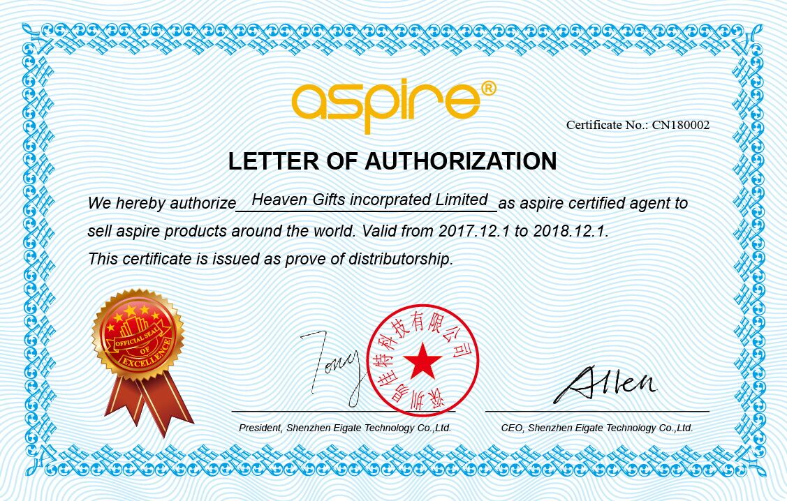 Manufacturer Authorization And All Authentic Products Guarantee