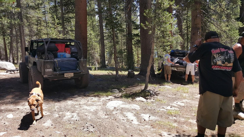 Dusy-Ershim  Trail - Waypoint 15: Ershim Lake Campground 1