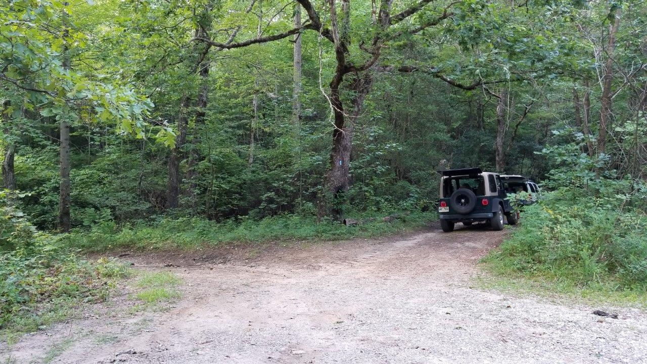 Tray Mountain Road - Waypoint 10: Camping Area