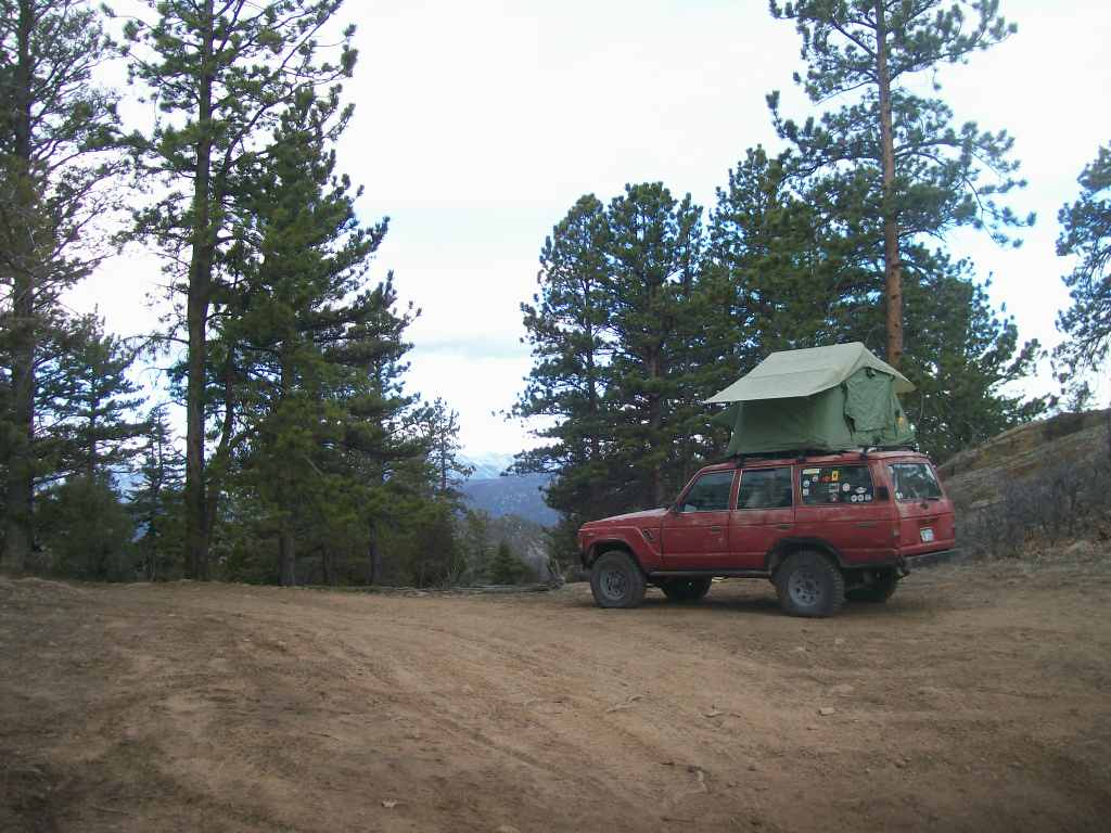 Camping: Fremont County Road 27