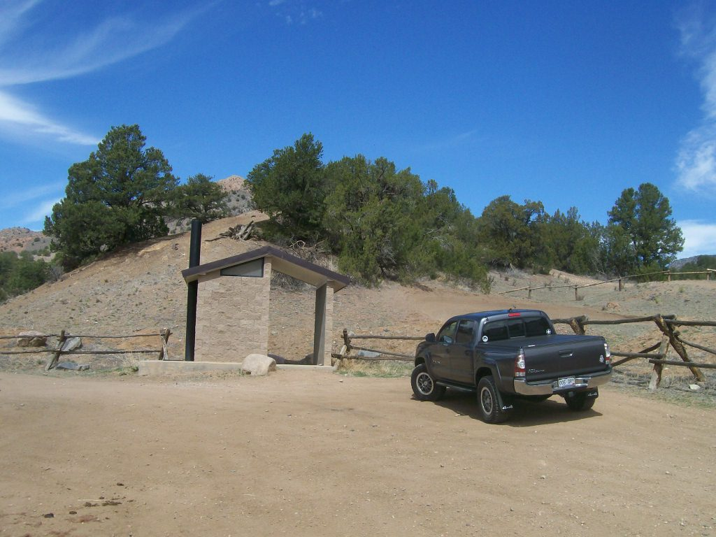 Fremont County Road 27 - Waypoint 2: Texas Creek Kiosk