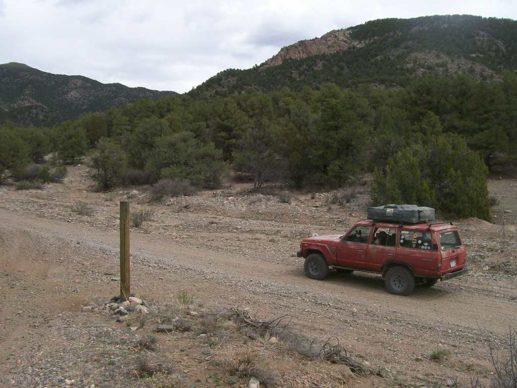 Fremont County Road 27 - Waypoint 3: Designated Campsite