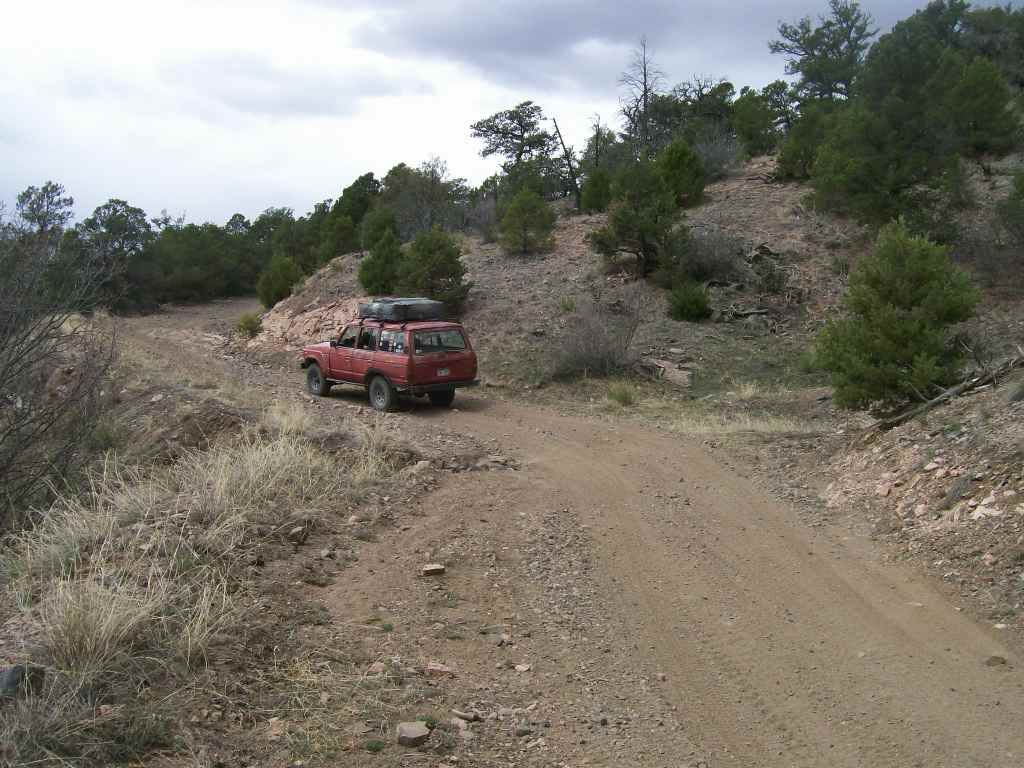 Fremont County Road 27 - Waypoint 5: Switchback