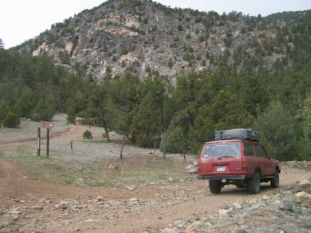 Fremont County Road 27 - Waypoint 6: Intersection T6027A