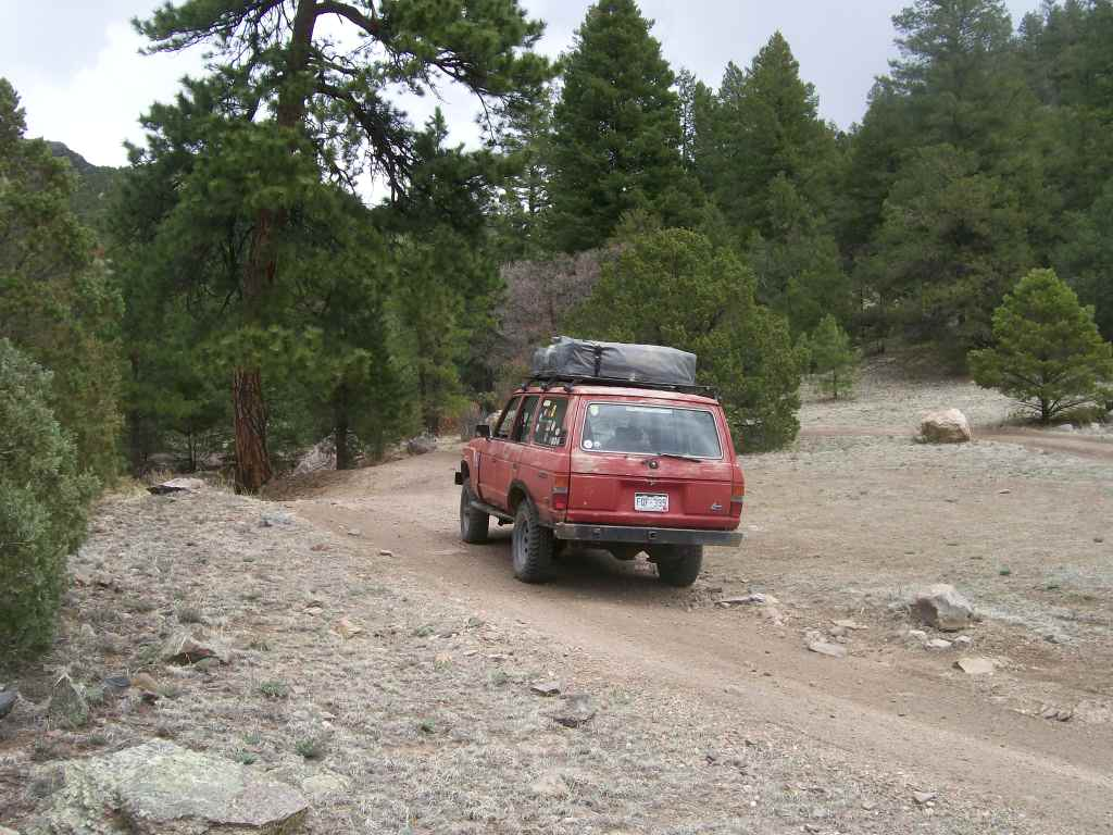 Fremont County Road 27 - Waypoint 7: End at Designated Campsite