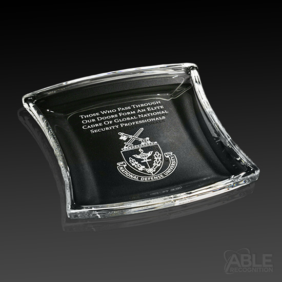 Full Color Medium Rectangle Paperweight