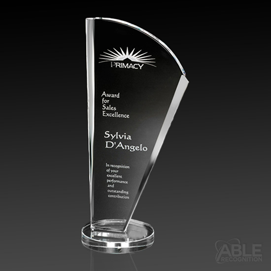 Merit Crystal Award