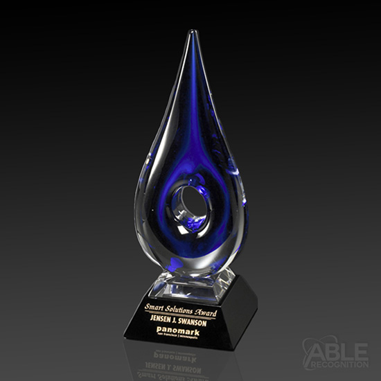 Blue Teardrop Award