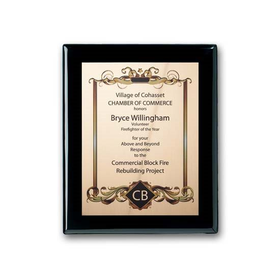 SpectraPrint Plaque - Ebony