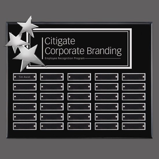 Constellation P/Plaques - Black/Chrome 30 Plate