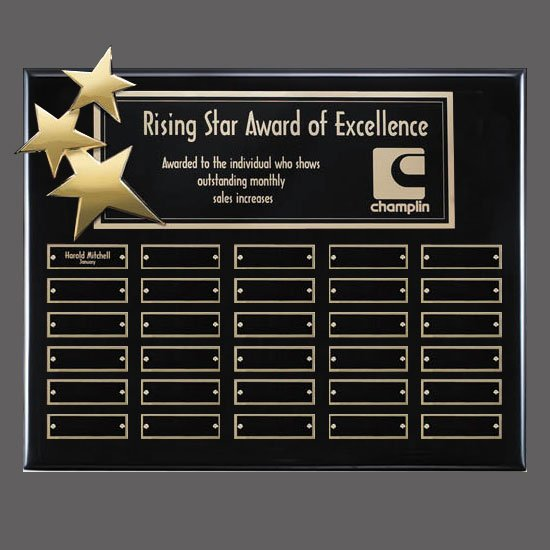 Constellation P/Plaques - Black/Gold 30 Plate