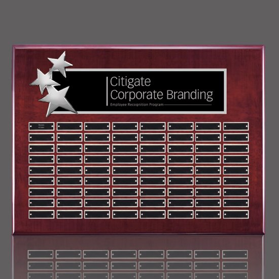 Constellation P/Plaques - Rosewood/Chrome 72 Plate