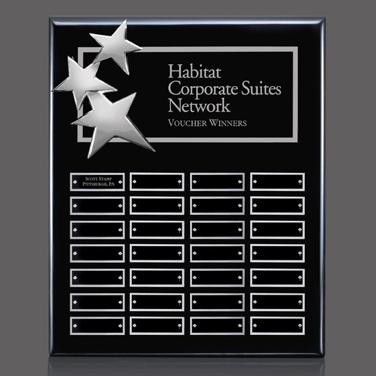 Constellation Vert P/Plaque - Black/Chrome 28 Plate