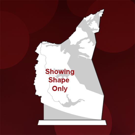 Map - North West Territories Crystal Award