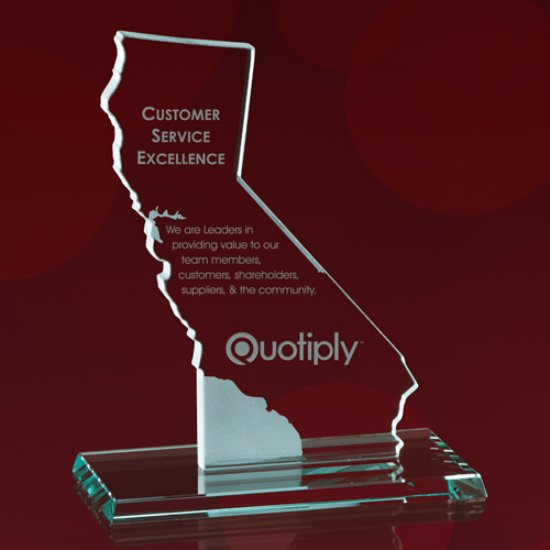 State Map - California Crystal Award