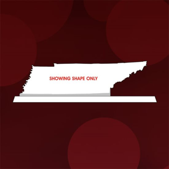 State Map - Tennessee Crystal Award