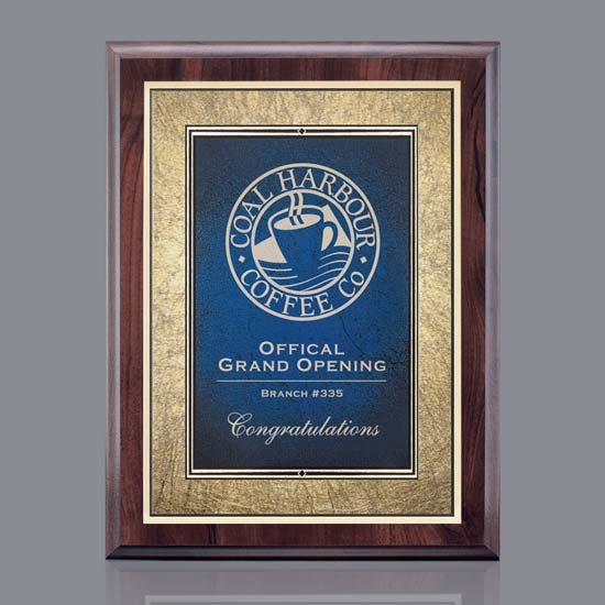 Farnsworth/Tamara Plaque Blue