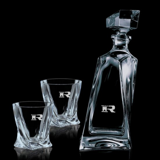 Bonhan Decanter & 2 On-the-Rocks