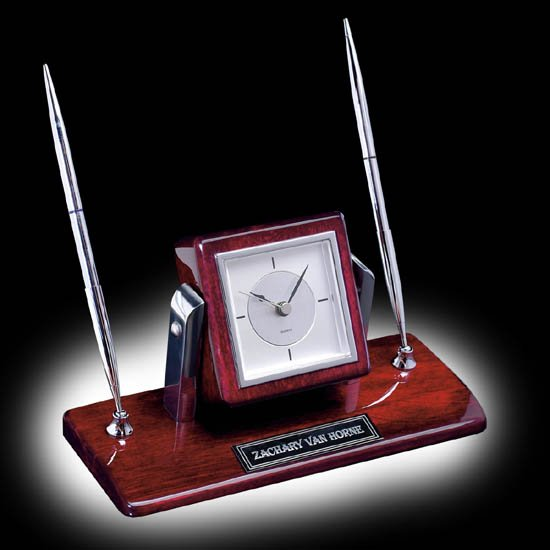 Eggleton Clock/Pen Set