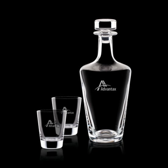 Frazier Decanter & 2 On-the-Rocks