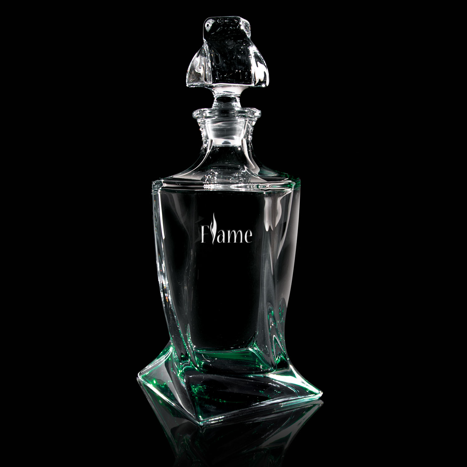Quadro Crystal Decanter