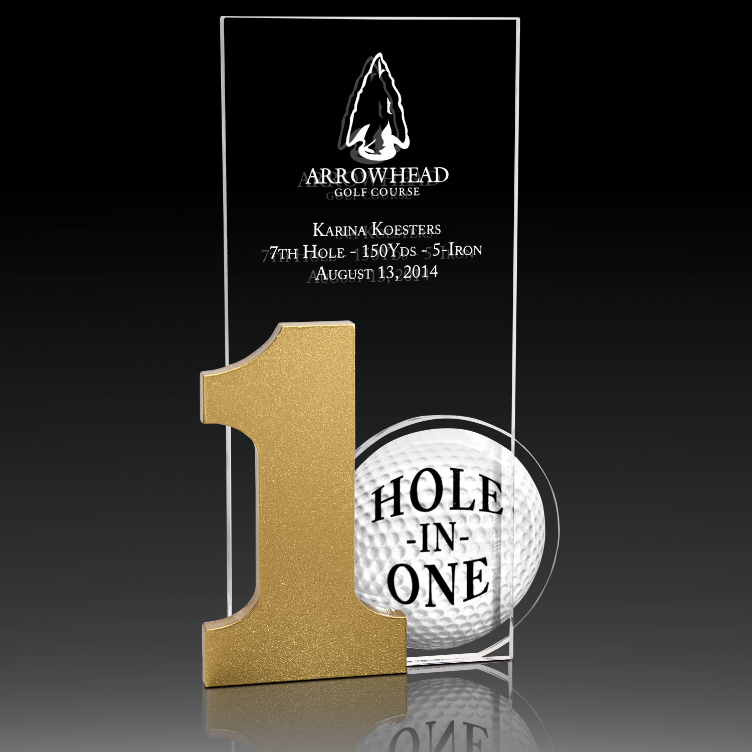 Acrylic Hole-In-One