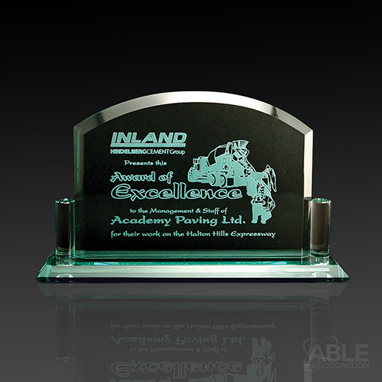 Excelsior Jade Glass Award