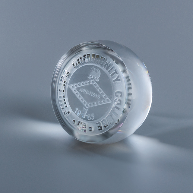 Excellence Crystal Paperweight