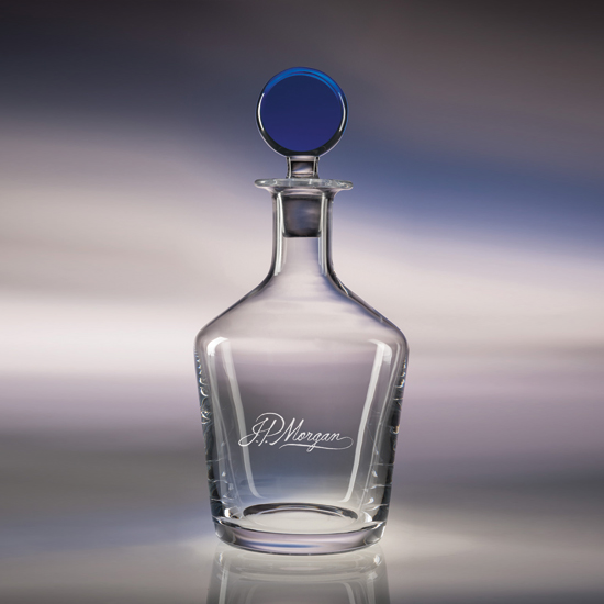 34oz. Craft Decanter - Blue