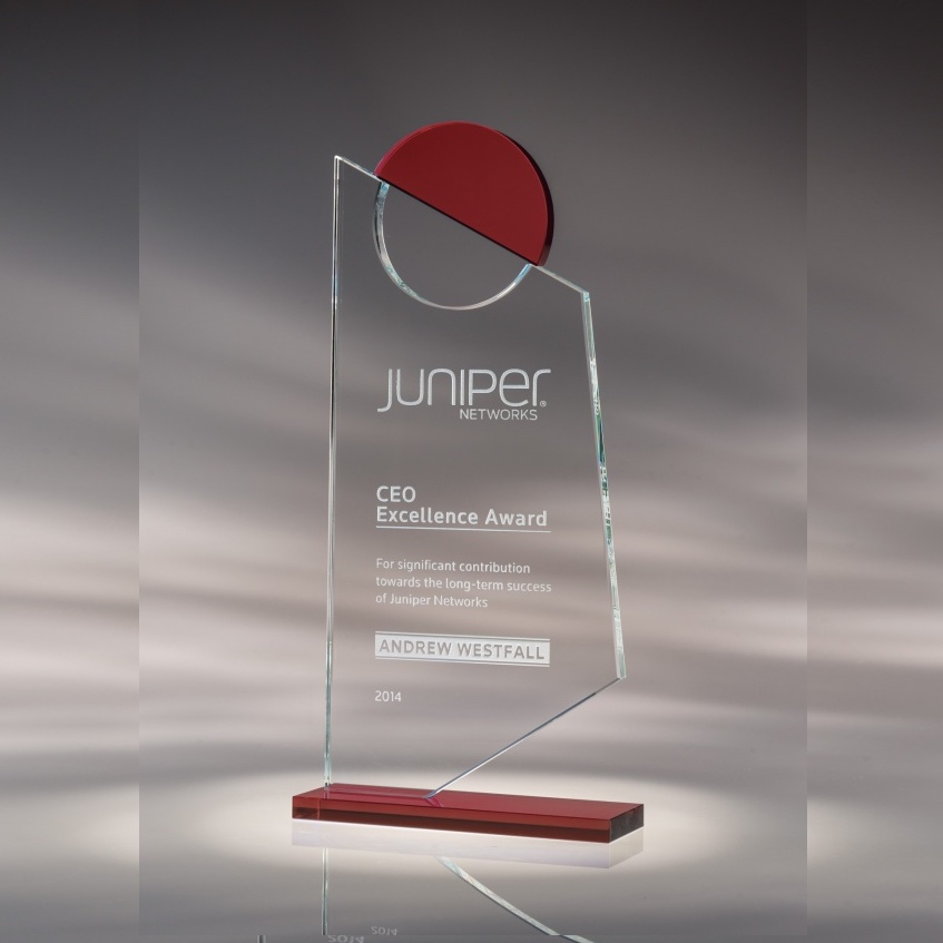 Insight Crystal Award - Red