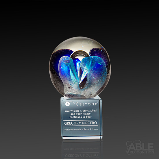 Intrigue Art Glass Award