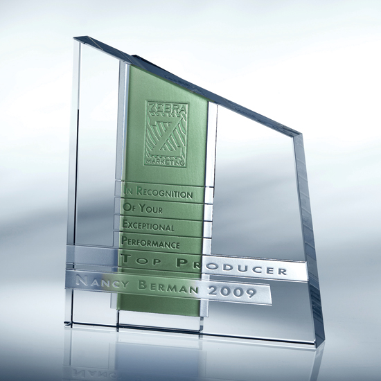 Chroma Crystal Award - Green