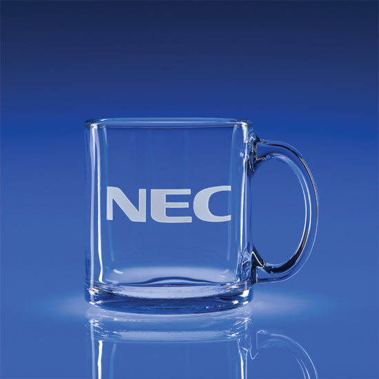 13oz. Tempered Mug - Clear Bulk