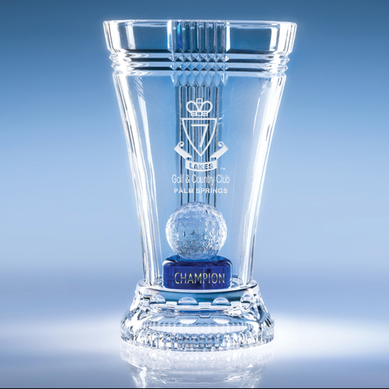 Trans Cup Crystal Golf - Blue