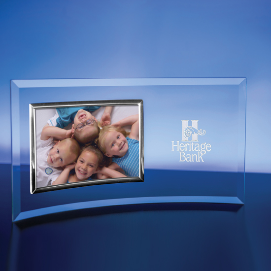 Horizontal Silver Picture Frame