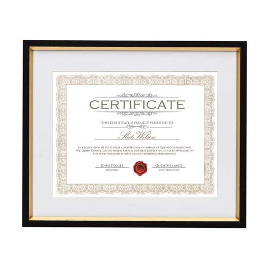 Angus Certificate Frame