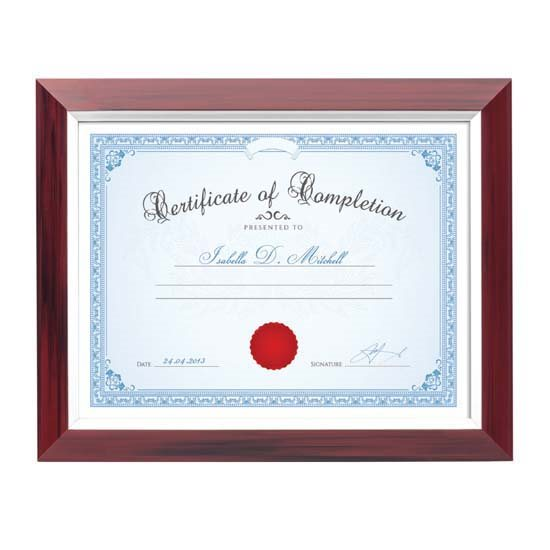 Stawell Certificate Frame