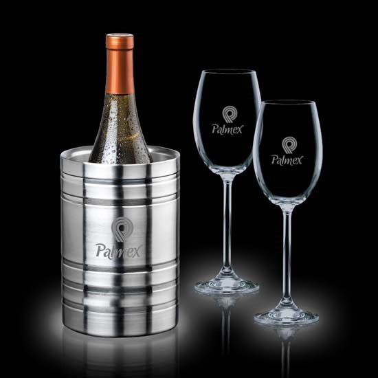 Perla Wine Cooler & 2 Woodbridge Wine