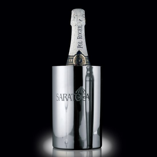 "Jacobs Stainless Steel 7¾"" Wine Cooler"