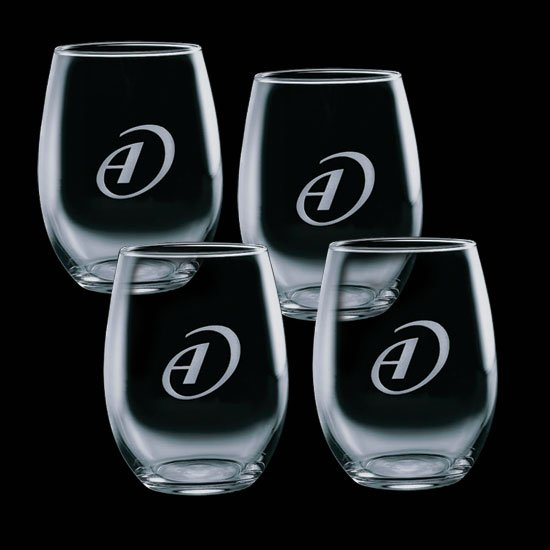 Stanford 9oz Stemless Wine (Set of 4)