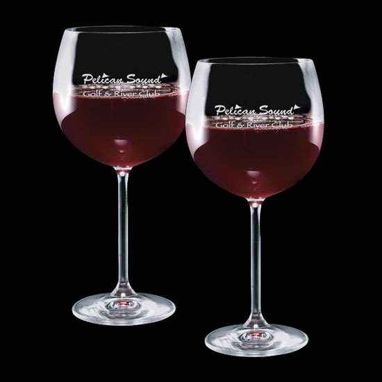 Woodbridge 19oz Burgundy (Set of 2)