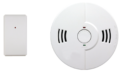 Home Security Fire Sensor with side button