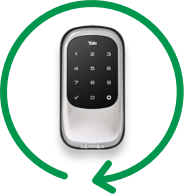 Keyless deadbolt door lock system from Alert 360