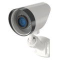 Tilted Side View of Outdoor wireless security Camera